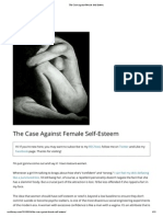 The Case Against Female Self-Esteem