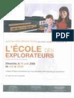 Ecole Des Explorateurs