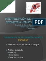 2 Interpretación de la citometría hemática