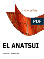 El Anatsui October Gallery