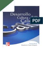 Libro Desarrollo de Una Cultura de Calidad 1