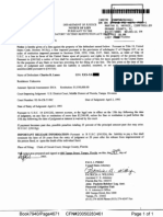 Department of Justice lien against Charles R. Lance