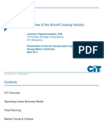 CIT Aircraft Leasing Industry Overview