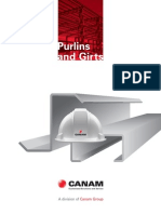 Canam Purlins and Girts Catalogue Canada