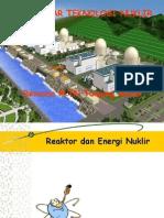 Kuliah Pengantar Teknologi Nuklir