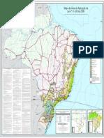 Mapa Mata Atlanttica Da Lei