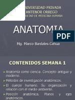 Anatomia Semana 1