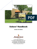 Ushers Handbook
