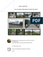 Evaluation Final Report of YSBS Infrastructure Project - MICD UGM