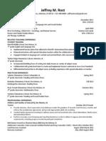 Rost Resume