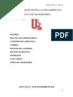 Formato de Reporte de Laboratorio
