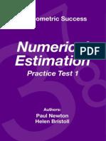 Psychometric Success Numerical Ability - Estimation Practice Test 1
