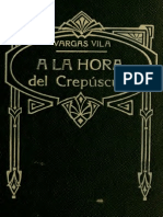 Vargas Vila-la Hora Del Crepusculo