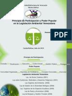 Participación Popular y Poder Popular en la Legislación Ambientall