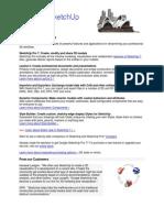 Google SketchUp Pro 7 Datasheet