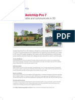 Sketchup Pro 7 Benefits Features