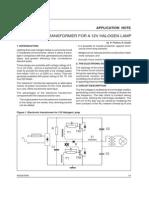 Transformador Electrnico Para La Lmpara Del Halgeno 12cv 214