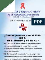 COPRESIDA - VIHSIDA Lugar de Trabajo RD (Presentación COPARD