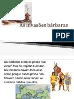 As Invasões Barbaras