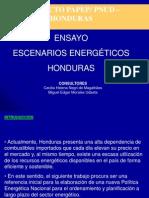 Escenario Energeticos