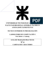 LAB1 TP04 Cadenas de Caracteres 2008