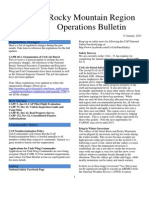 RMR Operations Bulletin - Jan 2013