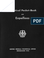 Federal Statistical Office Wiesbaden - Statistical Pocket-Book on Expellees