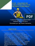 Pasaporte de Seguridad Para Contratistas - Ing.rafael Marranzini