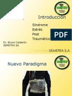 Síndrome Stress Post-traumático - Dr.Bruno Calderón