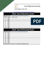 Get Control Top 20 Goals Sheet