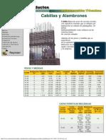 Materiales Los Andes, Productos _ Cabillas y Alambrones