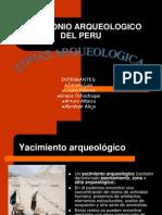 Patrimonio Arqueologico Del Peru