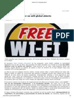 Por Un Wifi Global Abierto, 11-13