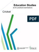 Cricket Practical Exam