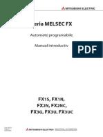 Fx1s,Fx1n,Fx2n,Fx3g,Fx3u - Manual Introductiv 209122-d (07.09)_ro