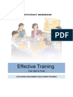 EffectiveTraining Participant Guide