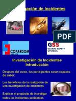 3) Investigacion de Incidentes
