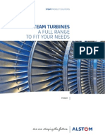 Steam Turbines a Full Range to Fit Your Needs