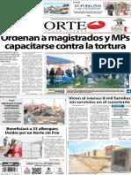 Periódico Norte de Ciudad Juarez 18 de Noviembre de 2013