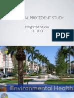 Personal Precedent Study
