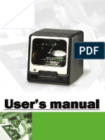 A 50m Users Manual barcode scanner