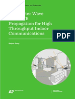 Millimeter Wave and UWB Propagation for High Throughput Indoor Communications