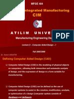 Computer Aided Design CAD-I