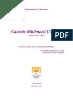 Caietele Bibliotecii UNATC Nr. XII RUXANDRA-MIHAELA ENACHE - DANSUL SACRU - VECTOR SPAȚIO-TEMPORAL