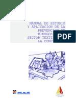 estudio realizado con maz sobre prevencin de riesgos laborales empresas textiles