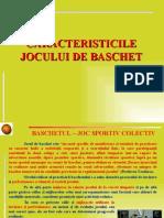 Caracteristicile Jocului de Bascheet