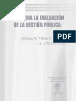 Guía Evaluación Gestión Púbica (DAFP)