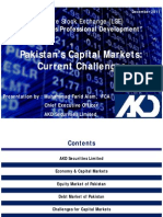 Pakistan Capital Market - Current Challenges (Final)