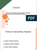 Industrial Finance