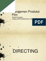 Manajemen Produksi Film